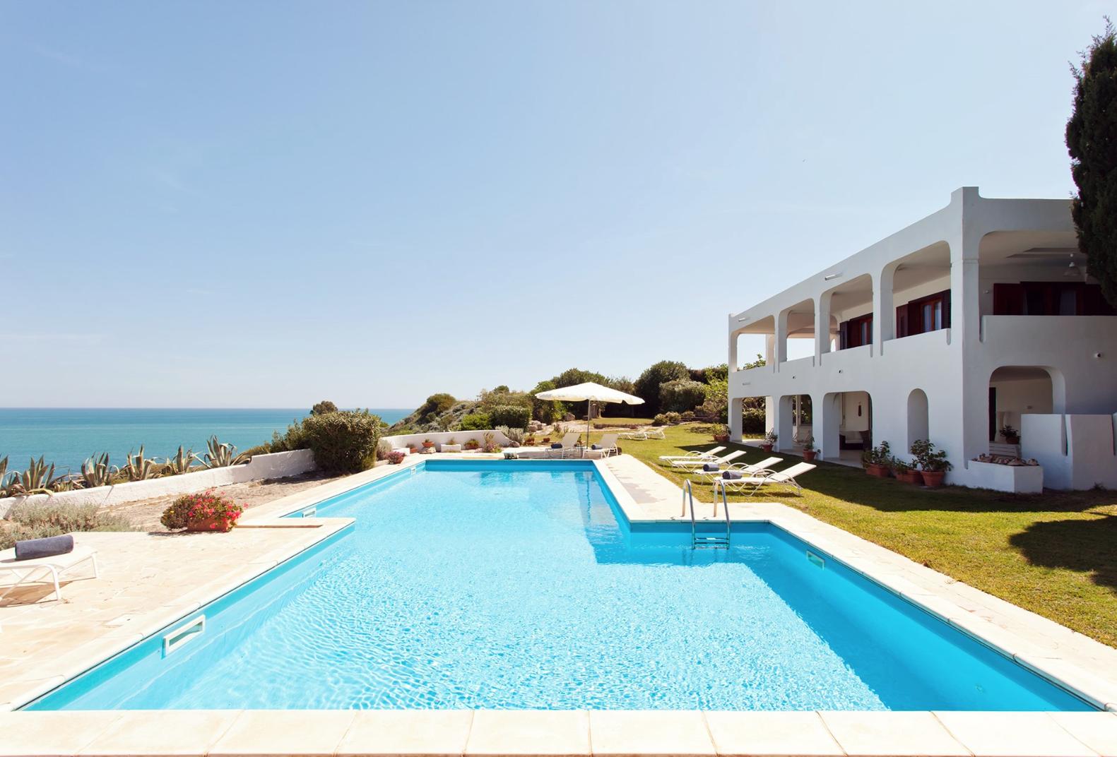 Villa Saracena, pool